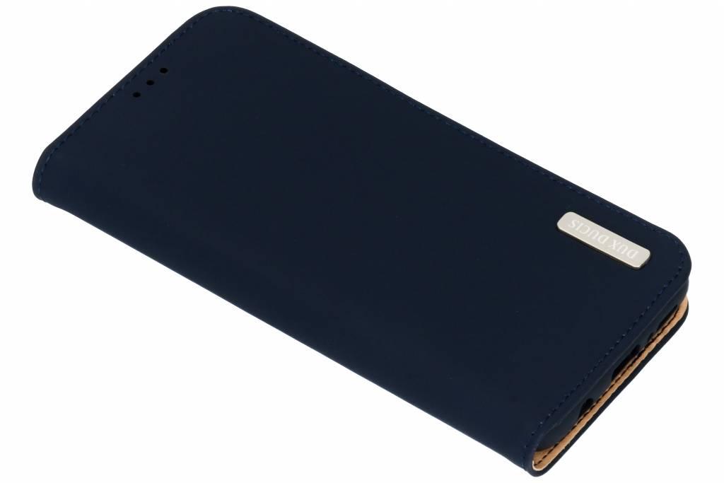Dux Ducis Blauwe Genuine Leather Case voor de Samsung Galaxy S9