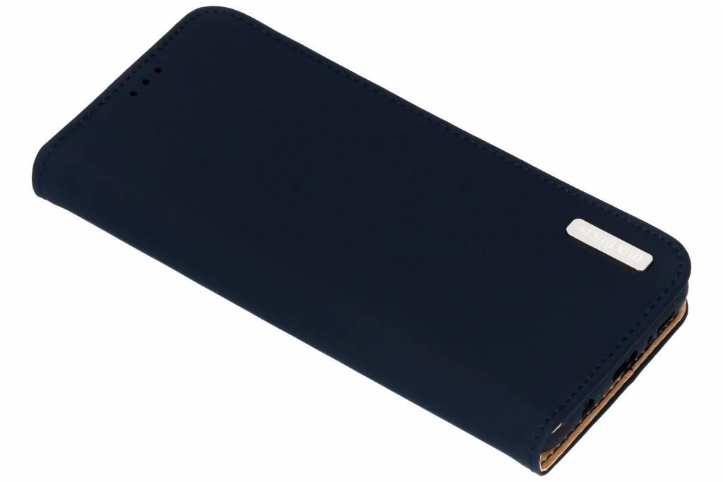 Dux Ducis Blauwe Genuine Leather Case voor de Samsung Galaxy S9 Plus