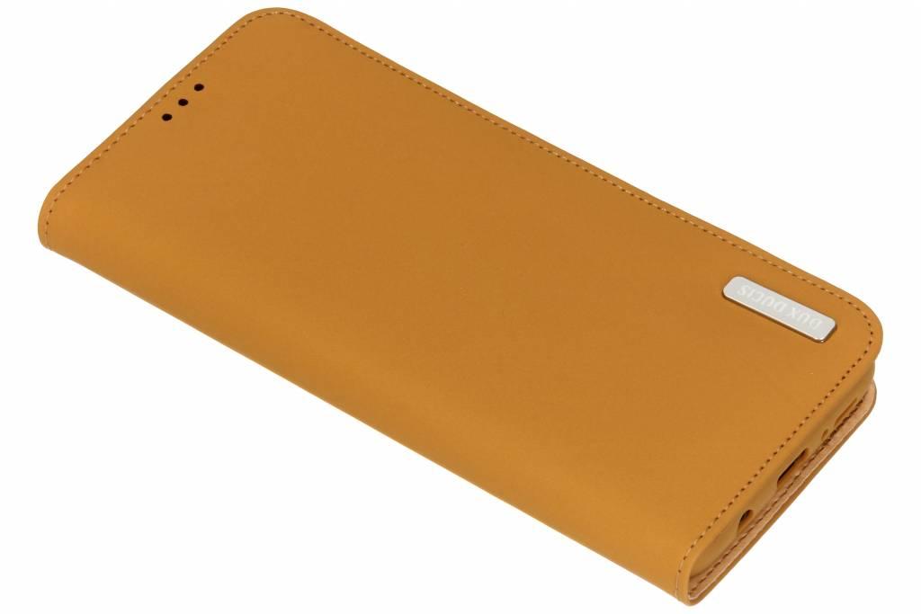 Bruine Genuine Leather Case voor de Samsung Galaxy S9 Plus
