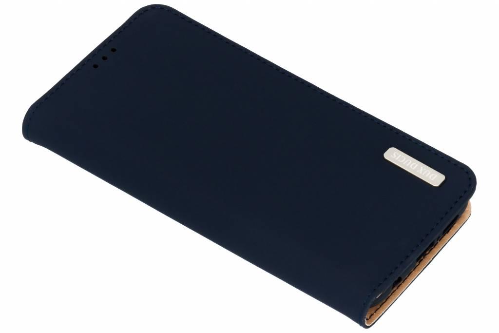 Dux Ducis Blauwe Genuine Leather Case voor de Huawei P20 Lite