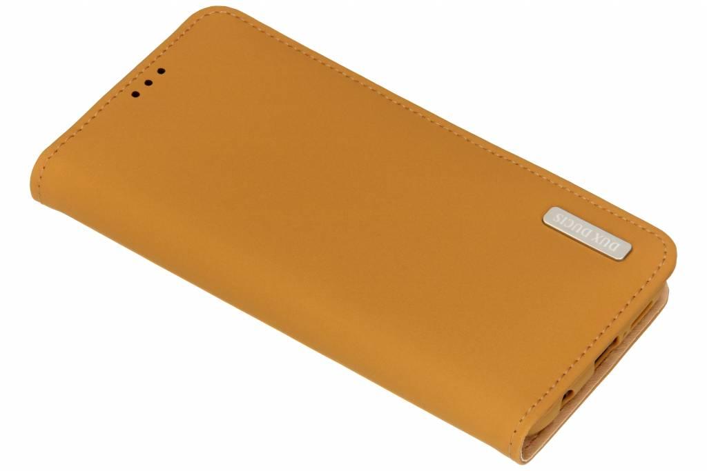 Dux Ducis Bruine Genuine Leather Case voor de Huawei P20 Lite