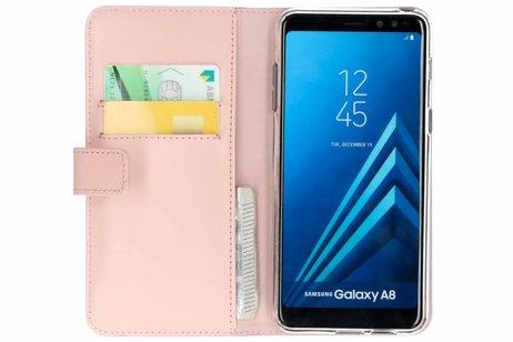 Samsung Galaxy A8 (2018) hoesje - Flamingo Softcase Booktype voor