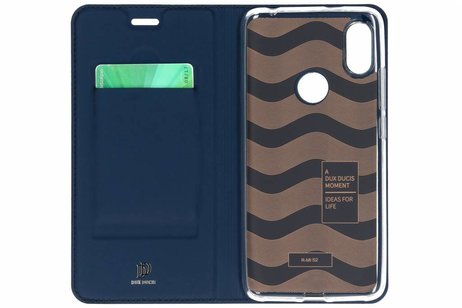 Dux Ducis Slim Softcase Booktype voor Xiaomi Redmi S2 - Donkerblauw