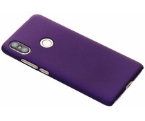 Paars effen hardcase hoesje Xiaomi Redmi S2