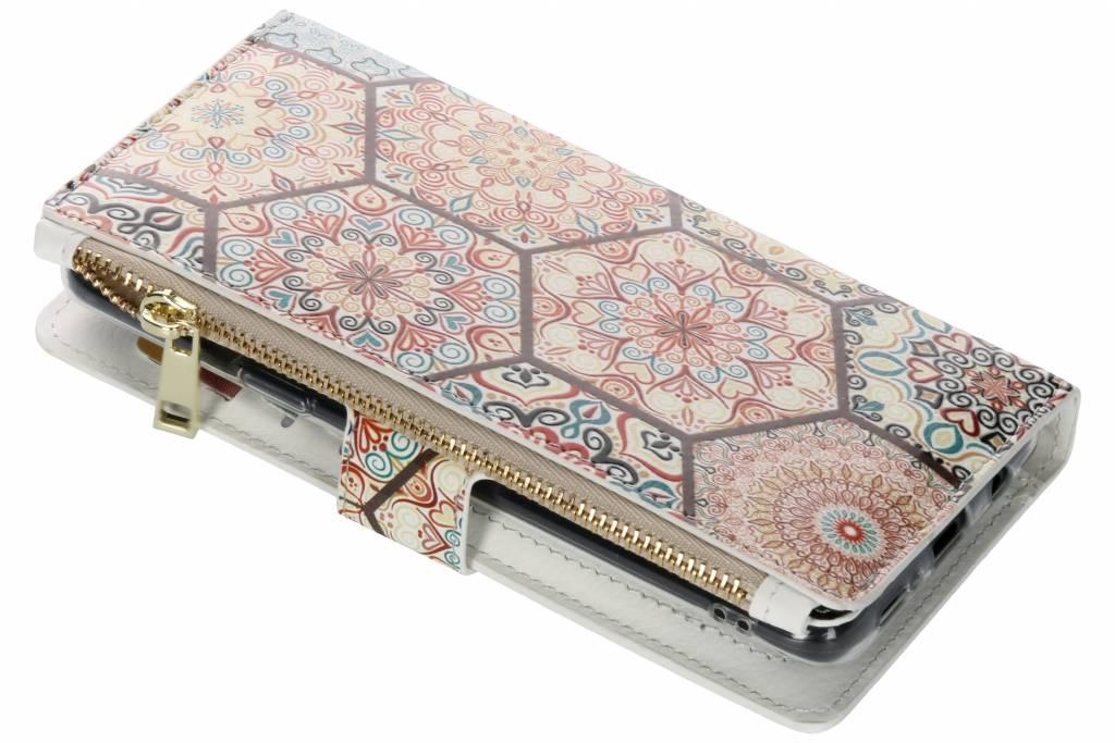 Festival design luxe portemonnee hoes voor de Samsung Galaxy S9 Plus