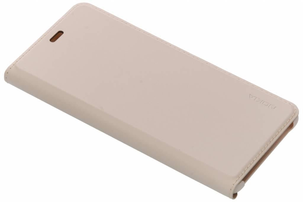 Nokia Beige Slim Flip Cover voor de Nokia 5.1
