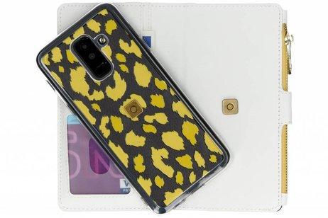 Design Luxe Portemonnee voor Samsung Galaxy A6 Plus (2018)