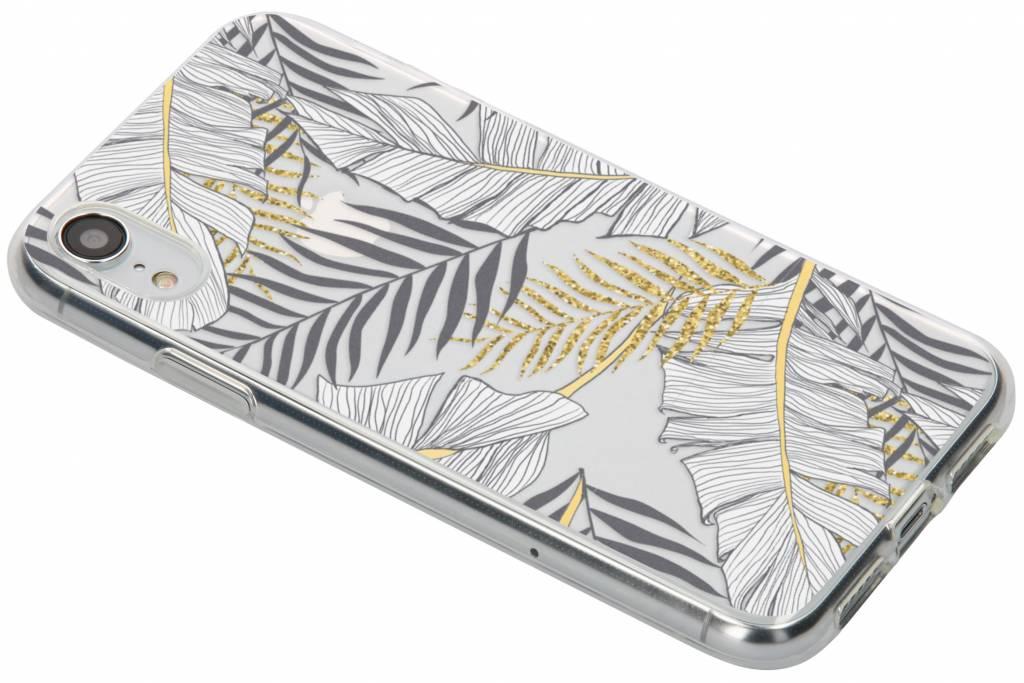 Design Backcover voor iPhone Xr - Glamour Botanic