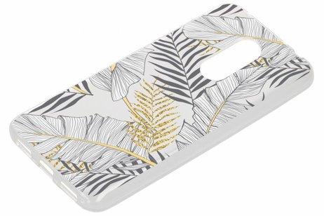 Design Backcover voor Xiaomi Redmi 5 Plus - Glamour Botanic