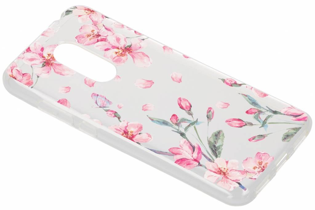 Design Backcover voor Xiaomi Redmi 5 Plus - Bloesem Watercolor
