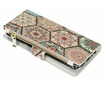 Design luxe portemonnee hoes Huawei P Smart
