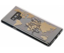 Quote design TPU hoesje Samsung Galaxy Note 9