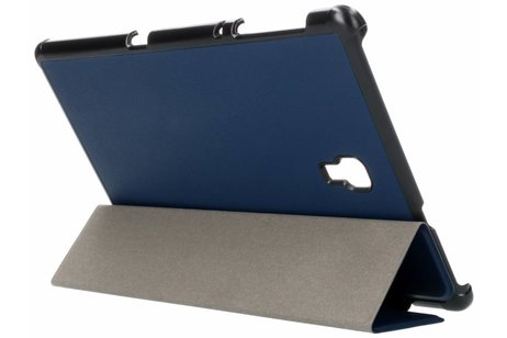 Stand Bookcase voor Samsung Galaxy Tab A 10.5 (2018) - Donkerblauw