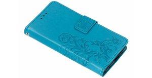 Klavertje Bloemen Booktype Nokia 6.1 Plus