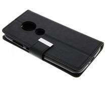 Zwart Booktype hoes Motorola Moto E5 Play