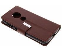 Bruin Booktype hoes Motorola Moto E5 Play