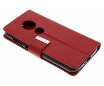 Rood Booktype hoes Motorola Moto E5 Play