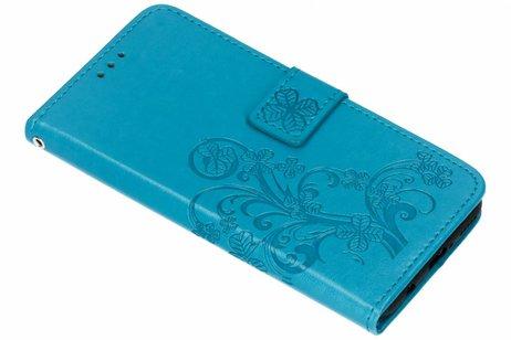 Huawei Nova 3 hoesje - Klavertje Bloemen Booktype voor