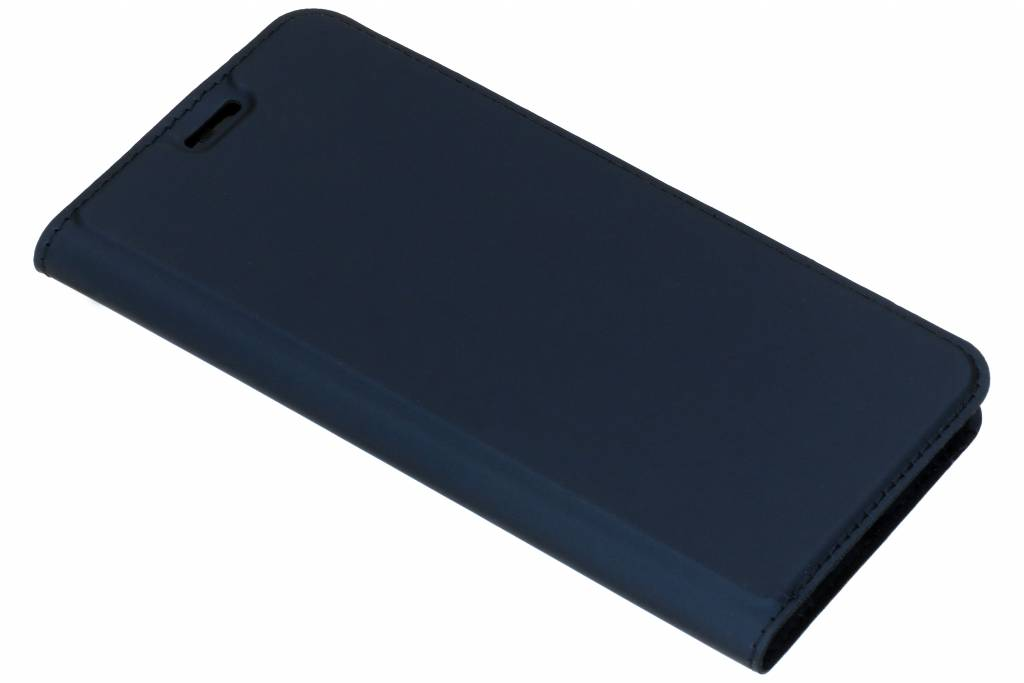 Dux Ducis Slim Softcase Booktype voor Huawei Nova 3 - Donkerblauw