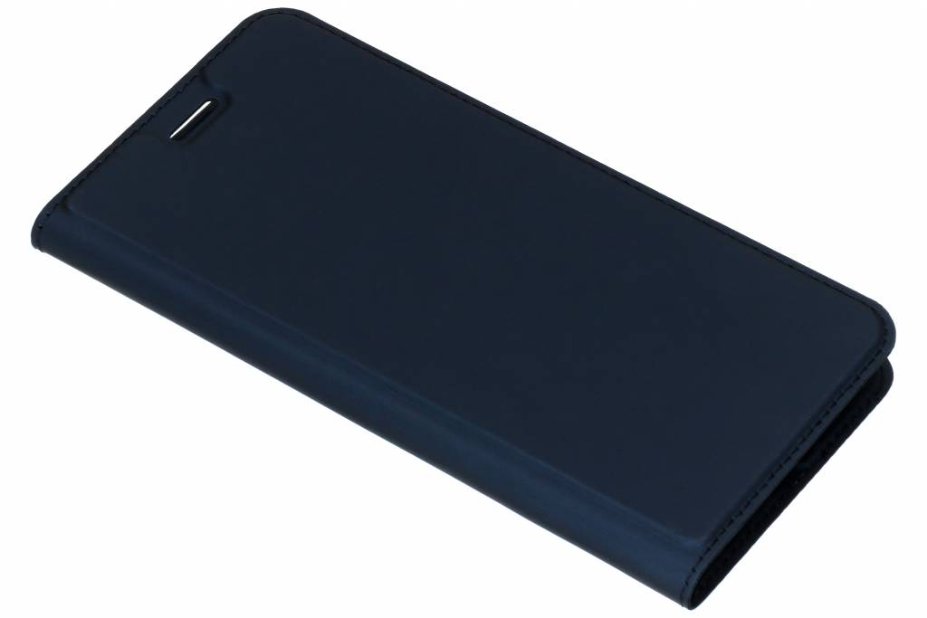 Dux Ducis Blauwe Slim TPU Booklet voor de Huawei Y7 (2018)