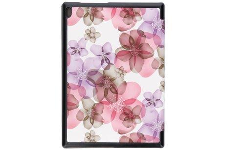 Lenovo Tab 4 10 inch hoesje - Design Hardcase Bookcase voor