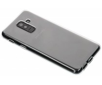 Transparant gel case Samsung Galaxy A6 Plus (2018)