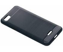 Donkerblauw Brushed TPU case Xiaomi Redmi 6A