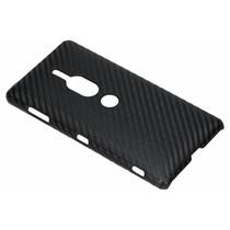 Carbon Hardcase Backcover Sony Xperia XZ2 Premium