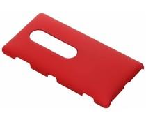 Rood effen hardcase hoesje Sony Xperia XZ2 Premium