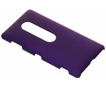 Paars effen hardcase hoesje Sony Xperia XZ2 Premium
