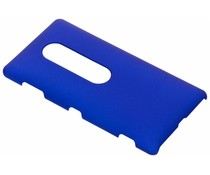 Blauw effen hardcase hoesje Sony Xperia XZ2 Premium