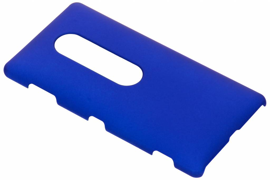 Blauw effen hardcase hoesje voor de Sony Xperia XZ2 Premium