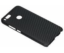 Zwart carbon look hardcase hoesje Xiaomi Mi A1