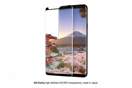 Eiger Case Friendly Glass Screenprotector voor Samsung Galaxy Note 9 - Zwart
