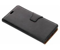 Zwart zakelijke TPU booktype hoes Xiaomi Mi A2
