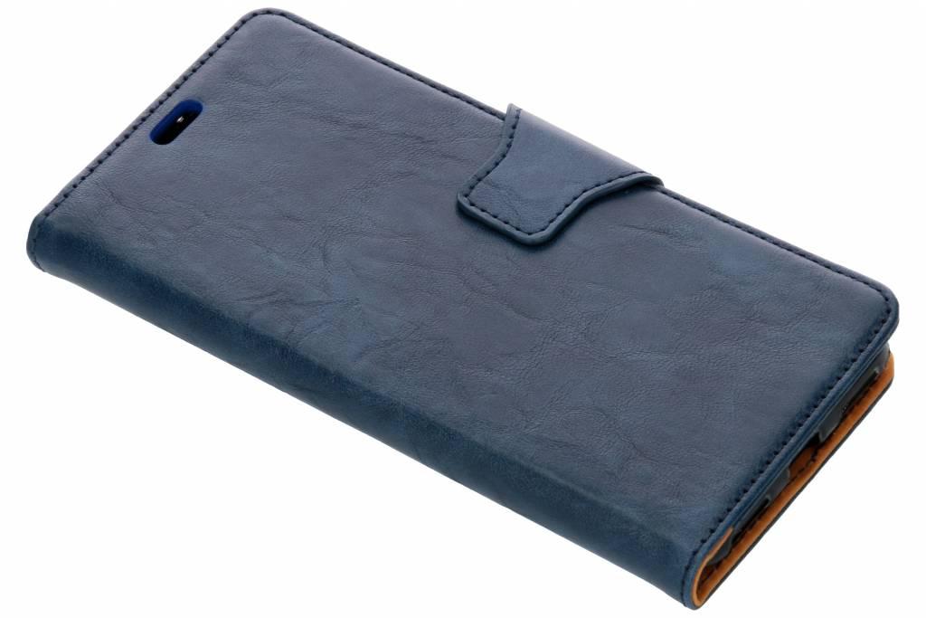 Zakelijke Softcase Booktype voor Xiaomi Mi A2 - Donkerblauw
