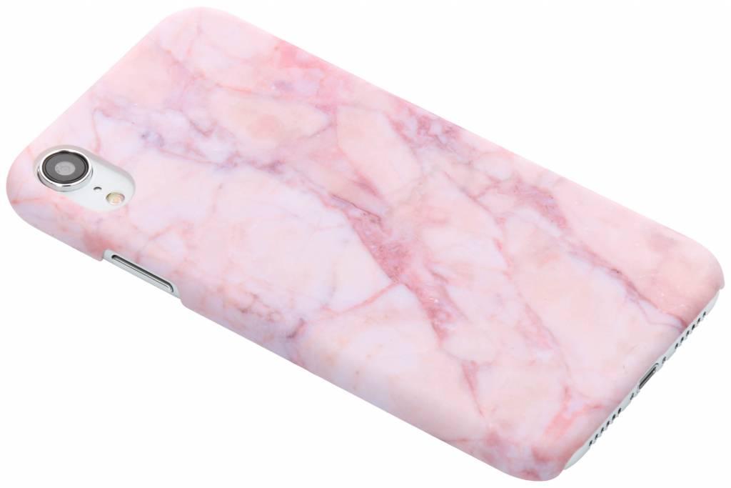 Roze marmer design hardcase hoesje voor de iPhone Xr