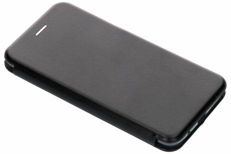 Slim Folio Booktype voor Motorola Moto E5 Plus - Zwart