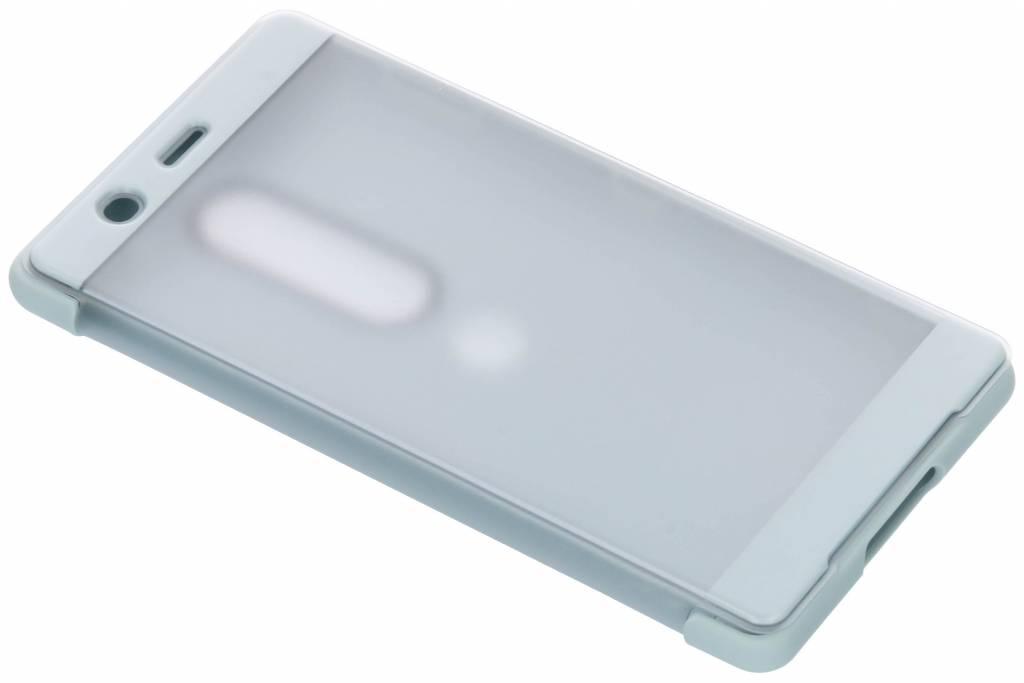 Sony Xperia XZ2 Premium Style Cover Touch Grijs voor Xperia XZ2 Premium
