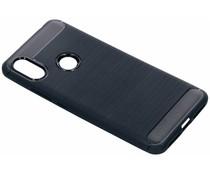 Donkerblauw Brushed TPU case Xiaomi Redmi S2