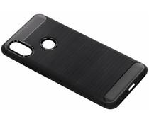 Zwart Brushed TPU case Xiaomi Redmi S2
