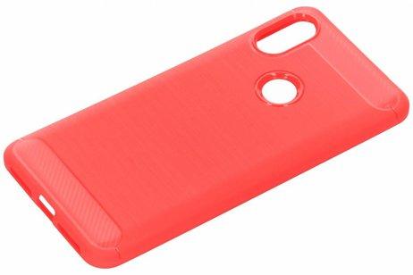 Overig hoesje - Brushed Backcover voor Xiaomi