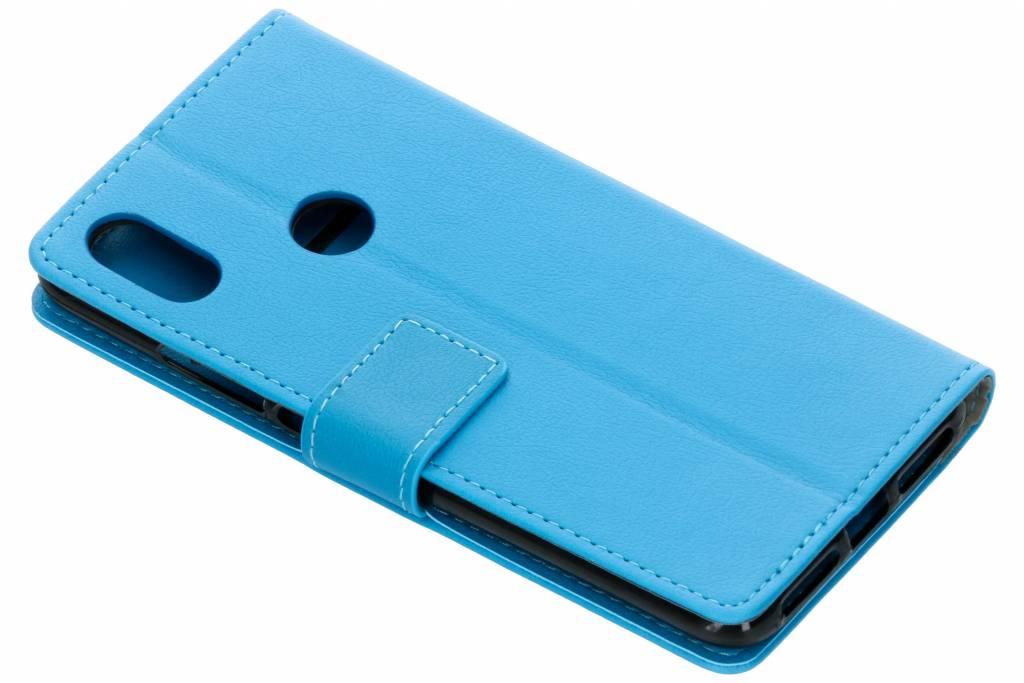 Blauwe TPU Bookcase voor de Xiaomi Redmi S2