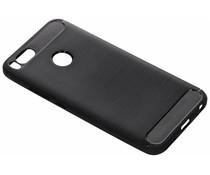 Zwart Brushed TPU case Xiaomi Mi A1