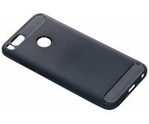 Donkerblauw Brushed TPU case Xiaomi Mi A1