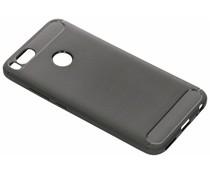 Grijs Brushed TPU case Xiaomi Mi A1