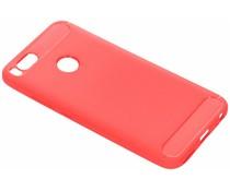 Rood Brushed TPU case Xiaomi Mi A1