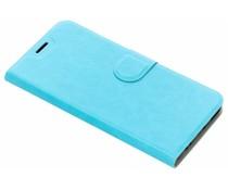 Blauw leder look booktype hoes Xiaomi Mi A1