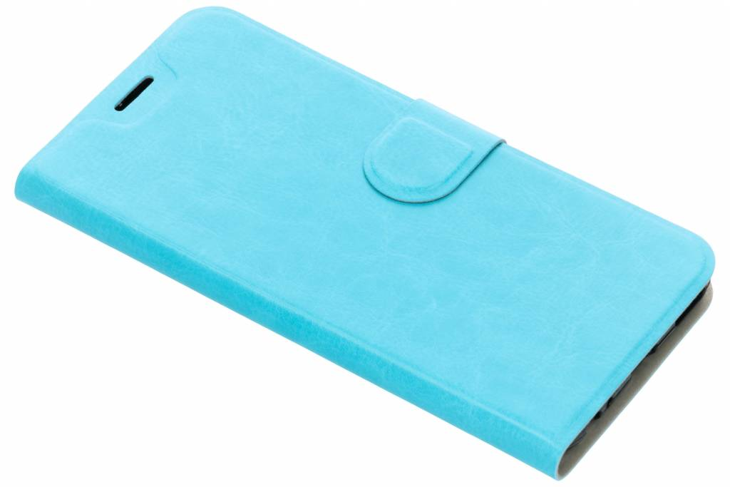 Lederen Booktype voor Xiaomi Mi A1 - Blauw