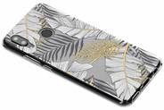 Design Backcover voor Huawei Nova 3 - Glamour Botanic